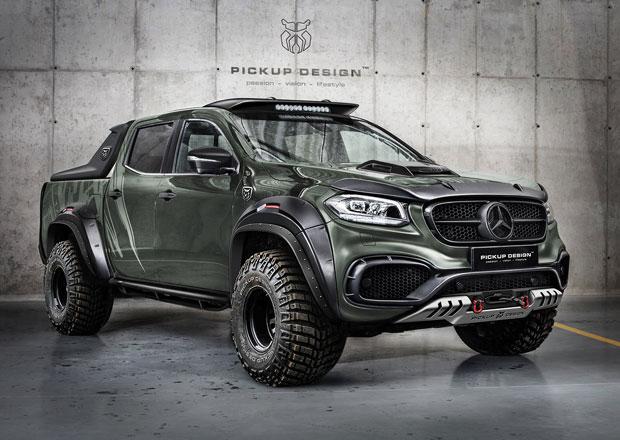 Mercedes-Benz X jako drsný a zároveň luxusní pick-up od Carlex Design