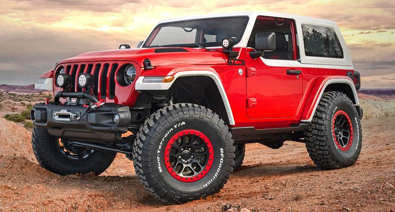 Jeep pro tradiční Moab Easter Jeep Safari připravil drsné terénní stroje. Jeden vypadá jak Volha!