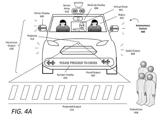 Uber chce předejít další tragédii. Ukazuje patenty, které naučí komunikovat auta s chodci