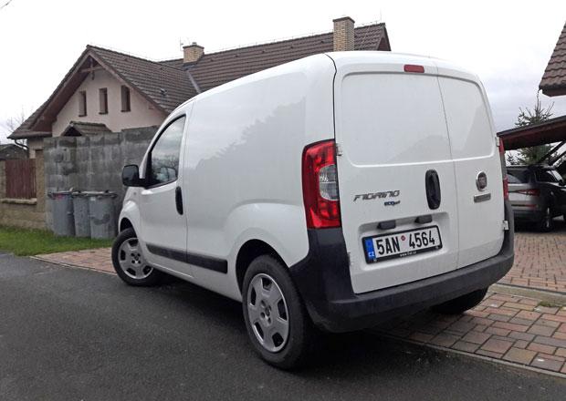 Fiat Fiorino Van 1.3 Multijet SX: Třináct tisíc (dlouhodobý test 5. část)