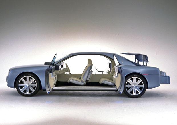 Lincoln se stejně jako Rolls-Royce vrátí k sebevražedným dveřím