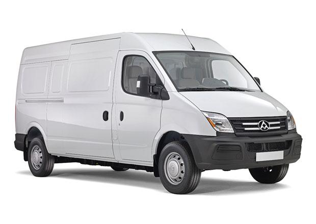 Maxus EV80: Elektrické dodávky z Číny míří do Evropy