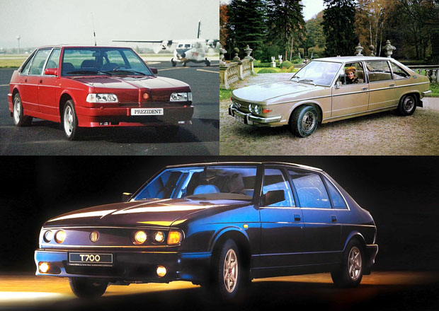 Zavzpomínejte na poslední osobní automobily značky Tatra