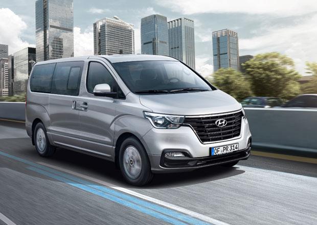 Hyundai H-1: Nový design a komfortní výbava