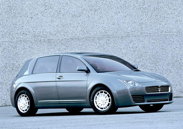 Zapomenuté koncepty: Maserati Buran – Osmiválcový crossover se směšným jménem