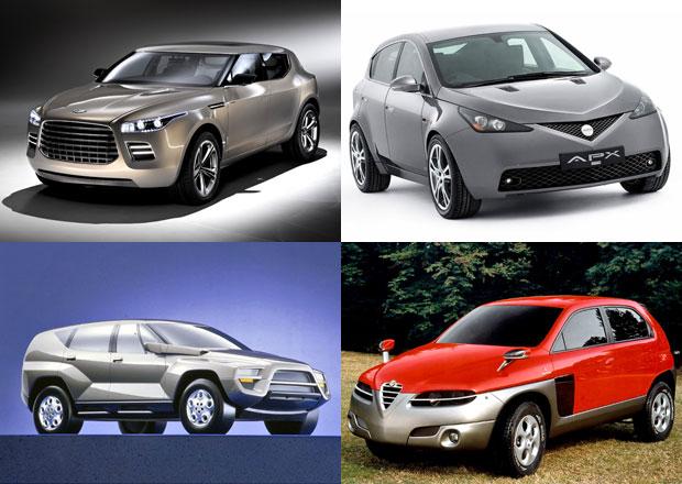 Móda luxusních SUV mohla začít už dávno. Jak vypadaly první návrhy takových aut?