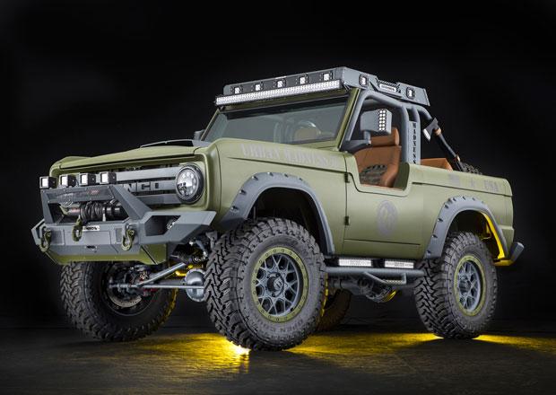 Divoký Urban Madness byl původně klasický Ford Bronco z roku 1969