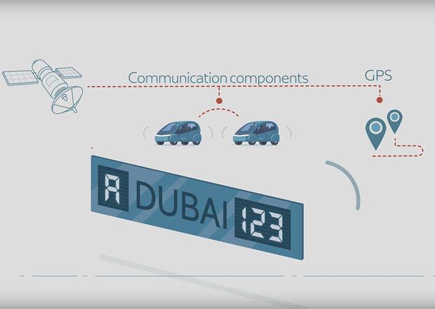 Dubaj prezentuje chytrou poznávací značku. Co všechno umí?