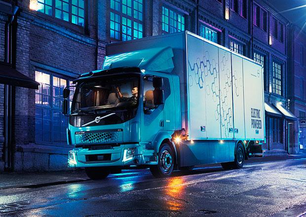 Volvo Trucks odhaluje elektrické nákladní vozidlo FL Electric