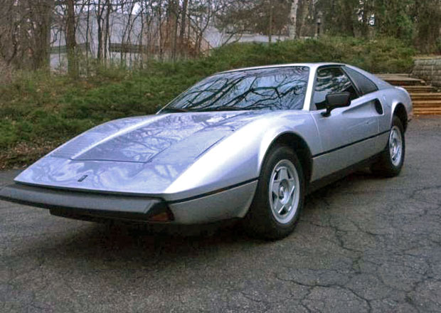 Mera s vizáží Ferrari je jedním z nejvzácnějších amerických automobilů