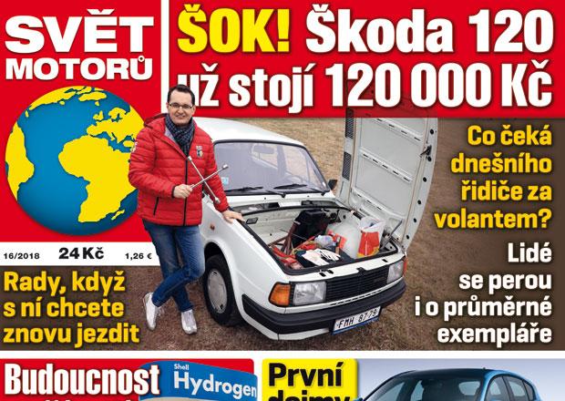 Svět motorů 16/2018: Vodíkový pohon automobilů