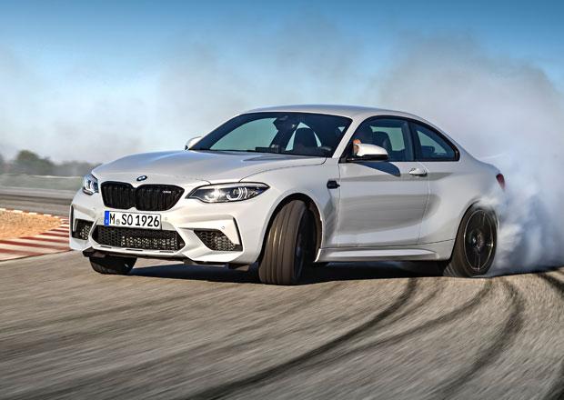 BMW M2 Competition oficiálně: Střela s šestiválcem z M3 nabízí 301 kW