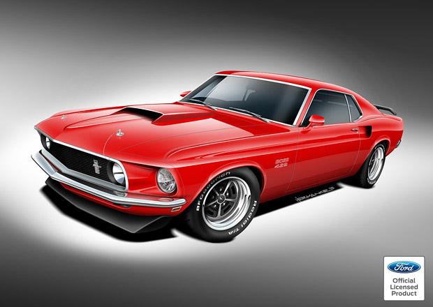 Classic Recreations oživí Boss a Mach 1 Mustang modelového roku 1969
