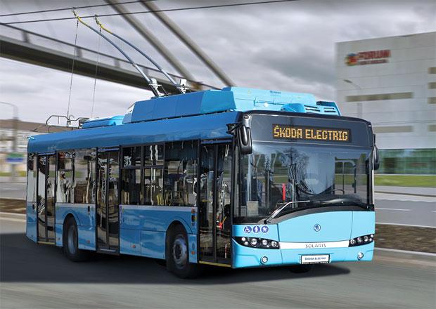 Parciální trolejbusy Škoda Electric pro Ostravu
