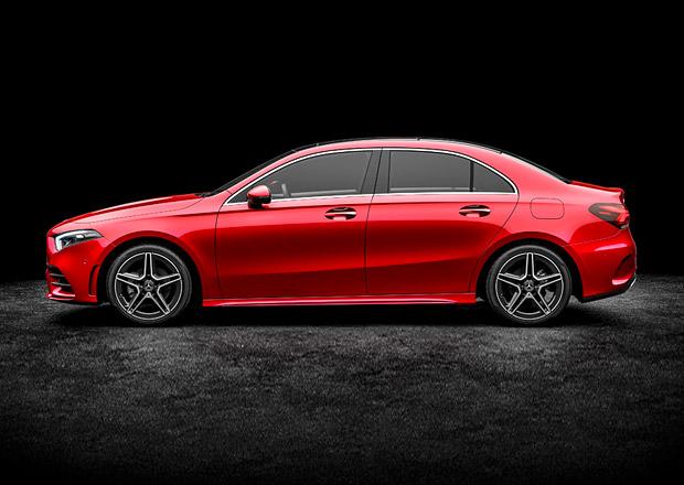 Mercedes-Benz třídy A přijíždí jako sedan. Zatím jen s delším rozvorem pro Čínu