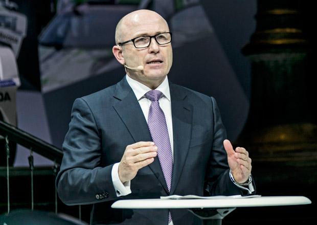Šéf Škodovky Maier: Naše kapacity v Evropě jsou plně využité, musíme dále investovat