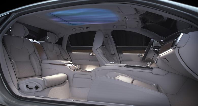 Volvo chce mít posádku jako v bavlnce. Představuje koncept vyvoněného interiéru