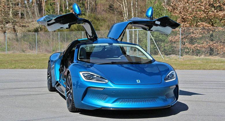 Isdera se vrací. Místo aut s motory Mercedes přichází elektrický sporťák!