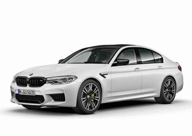 BMW připravuje posílené M5 Competition. V čem se odliší od výchozí verze?