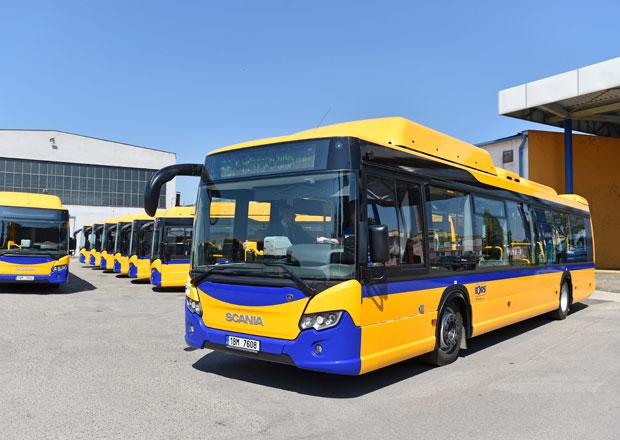 Nové autobusy Scania Citywide LF na CNG pro Břeclav