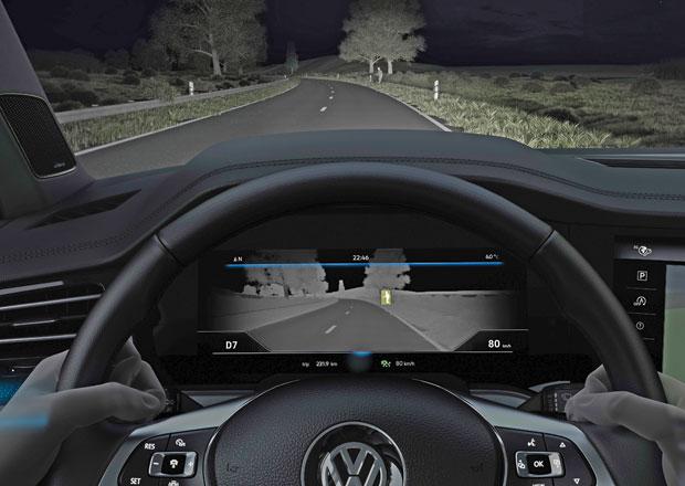 VW prozrazuje podrobnosti o termální kameře Touaregu. Jak daleko dohlédne?