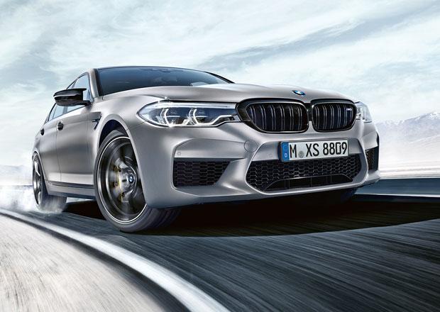 BMW M5 Competition oficiálně nastupuje s výkonem 625 koní
