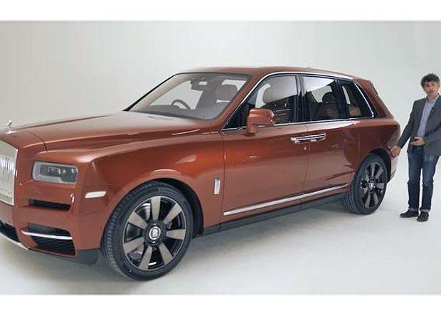 Rolls-Royce unikl snímek jeho prvního SUV! Cullinan je obr
