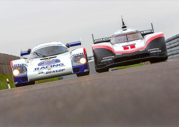 Rekordní Porsche 919 Hybrid Evo a Porsche 956 C spolu vyrazí na Nürburgring