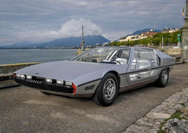 Lamborghini Marzal opět v akci: Slavný koncept se po 51 letech vrátí na silnice