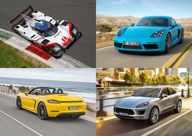 Porsche a jeho návrat ke čtyřválcovým motorům: Prohlédněte si je všechny!
