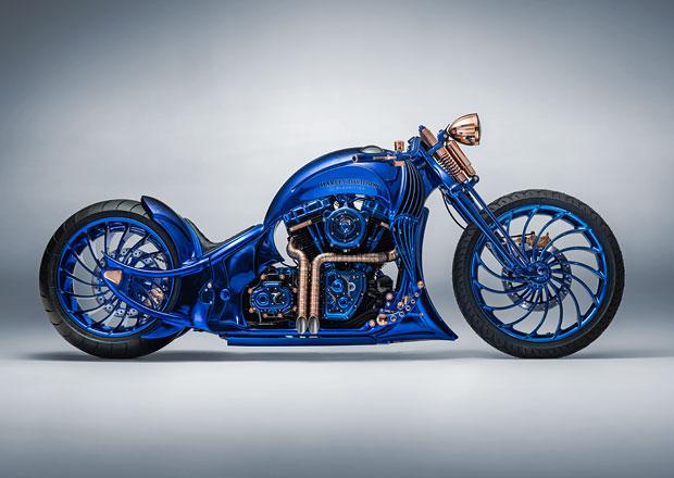 Harley-Davidson Blue Edition šokuje cenou. Tohle je nejdražší motocykl světa