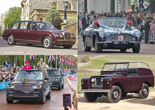 Královská svatba je tu. Podívejte se, čím jezdí členové britské královské rodiny