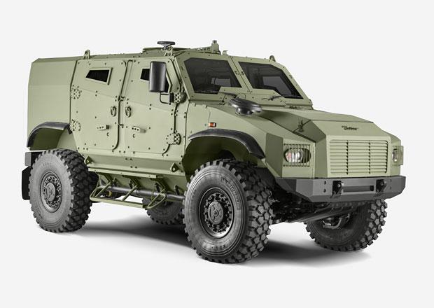 Tohle je nový Zetor. Není to traktor, ale armádní speciál!