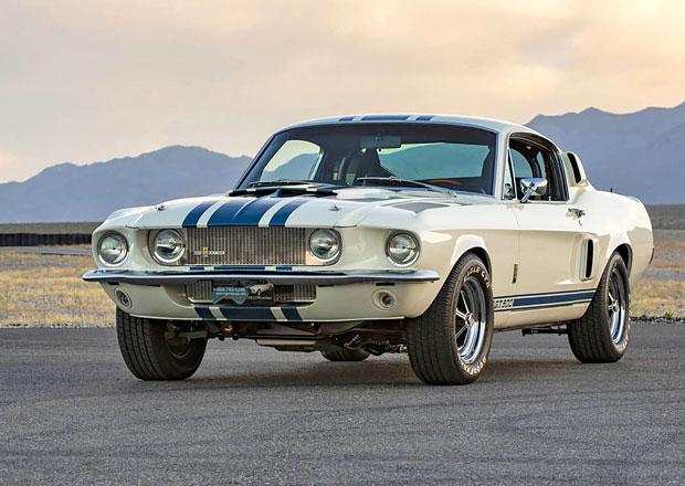 Shelby oživuje GT500 Super Snake z roku 1967. Postaví jen deset vozů!