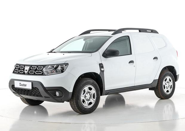 Dacia Duster přijíždí jako dodávka. Tenhle užitkáč se terénu nebojí