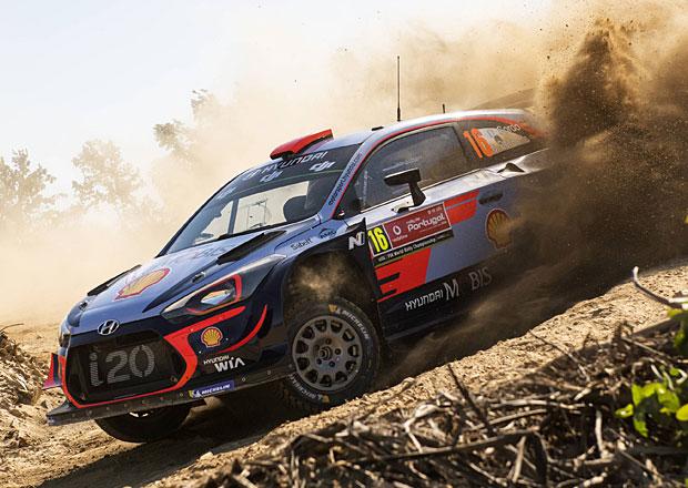 Portugalská rallye, 1. etapa: Ogier a Tänak mimo hru
