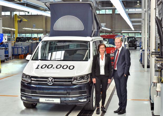 Volkswagen California slaví důležitý milník ve své historii