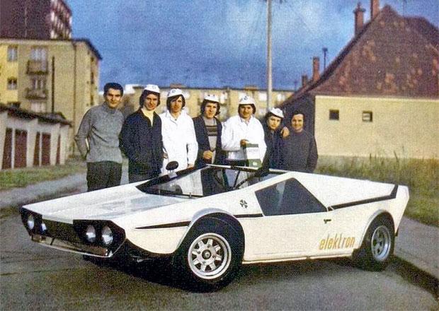 Sporťák GIOM 1 vznikl v roce 1972 na Slovensku. Bylo to druhé nejnižší auto světa!