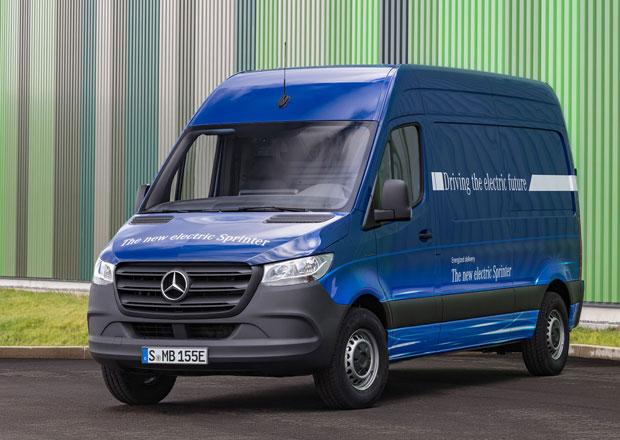 Mercedes-Benz eSprinter bude nabízen s bateriemi s různou kapacitou