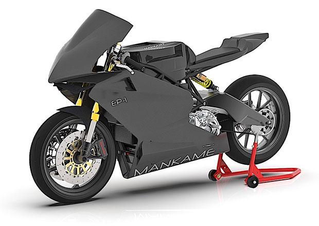 Mankame EP-1: Elektrický superbike z Indie má mít dojezd přes 500 km