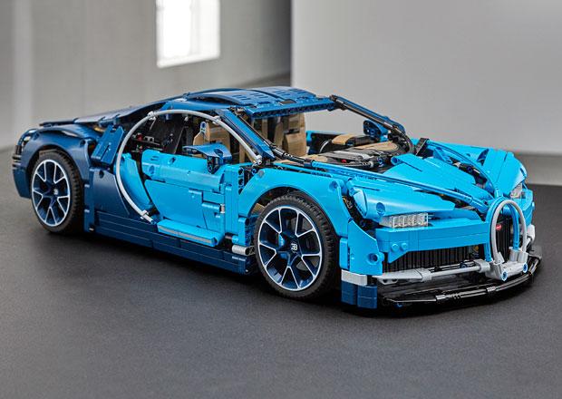 Bugatti Chiron už si můžete postavit z Lega. Ale připravte si balík