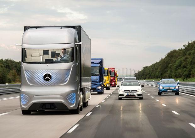 Výhled silniční dopravy na rok 2030: Vize Mercedes-Benzu