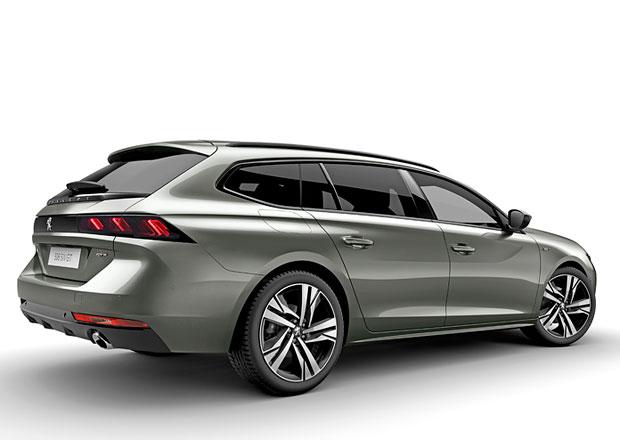 Peugeot odhaluje nejhezčí kombík současnosti. Přivítejte shooting brake 508 SW