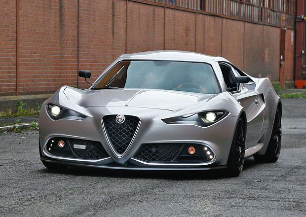 Alfa Romeo Mole Costruzione Artigianale 001: Karosáři ještě nevymřeli