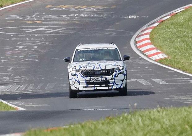 Škoda Kodiaq RS je za rohem! Poslední detaily se ladí na Nürburgringu