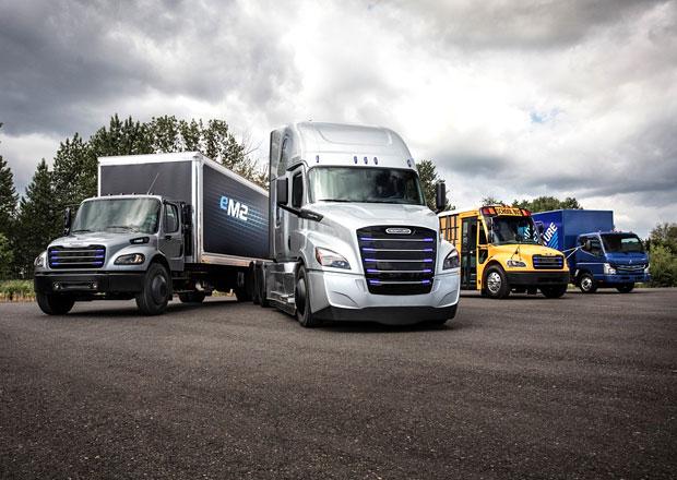 Daimler Trucks představuje elektrická vozidla značky Freightliner