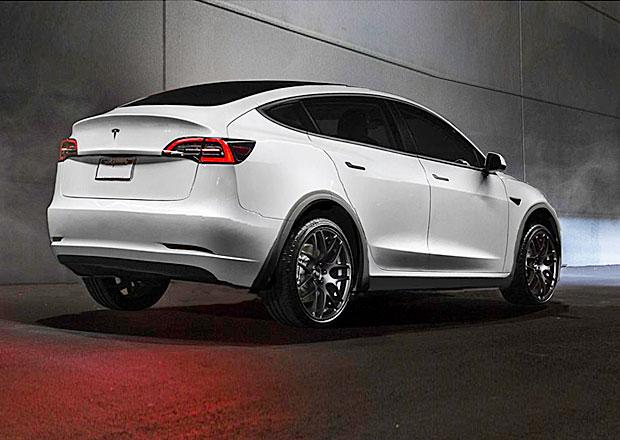 Podívejte se na Teslu Model Y. Muskovo nové SUV se začíná poodhalovat světu