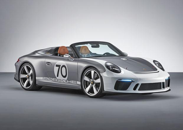 Porsche 911 Speedster Concept je čistá radost z jízdy s šancí na sériovou výrobu