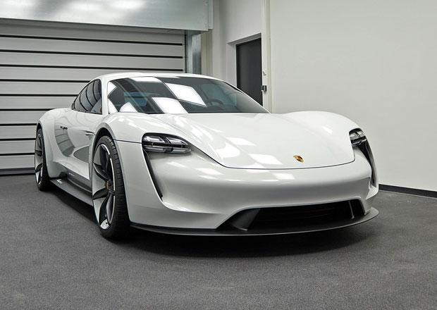 Elektrické Porsche Mission E už má jméno pro sériový vůz. Jak se vyslovuje?