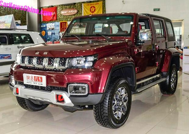 Beijing Auto představuje další čínskou kopii. Tentokrát jde o křížence Jeepu a Hummeru